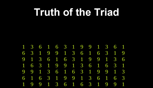 truth of the triad 2